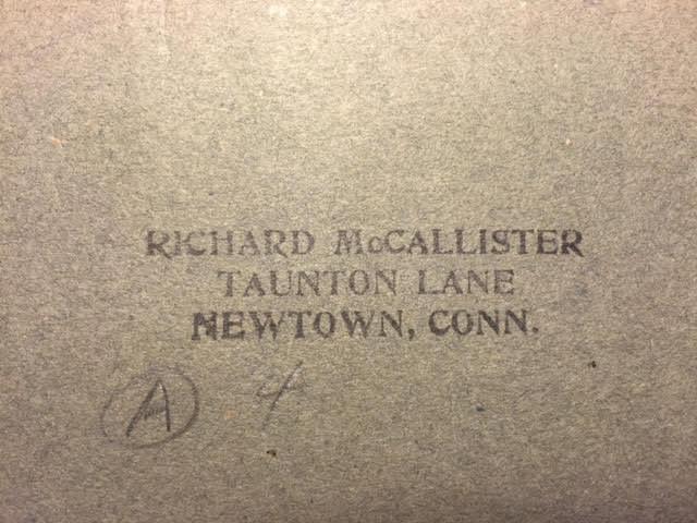 Richard McCallister stamp